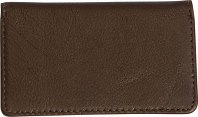 Canyon Outback Leather Cross Canyon Business Card Case Brown - Canyon Outback Men's Wallets