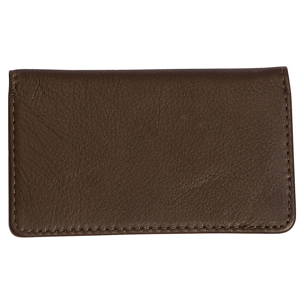 Canyon Outback Leather Cross Canyon Business Card Case Brown Canyon Outback Men s Wallets