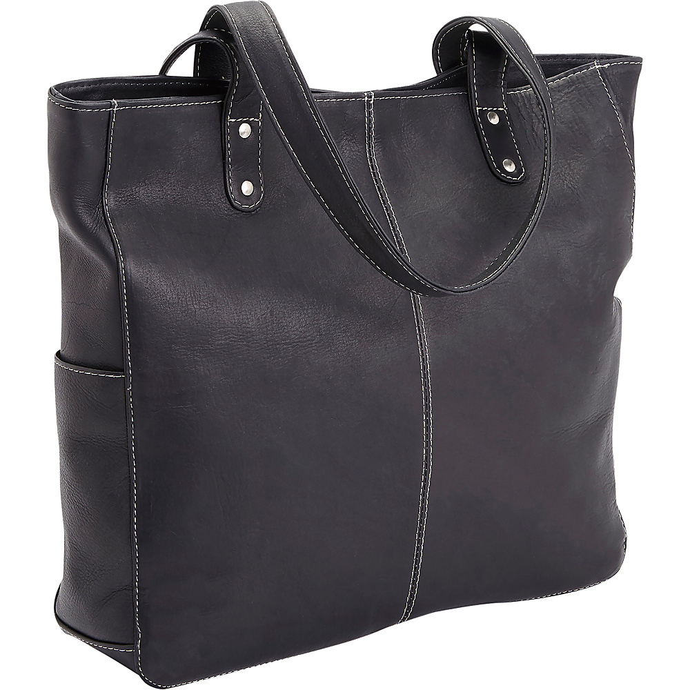 Royce Leather Womens Colombian Leather Hobo Black - Royce Leather Leather Handbags - Handbags, Leather Handbags