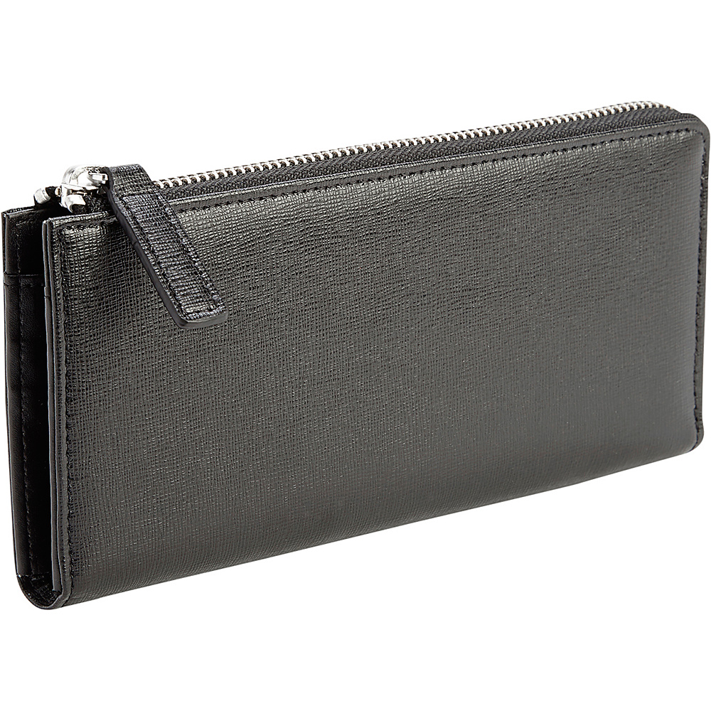 Royce Leather Fan RFID Blocking Wallet Black - Royce Leather Womens Wallets - Women's SLG, Women's Wallets