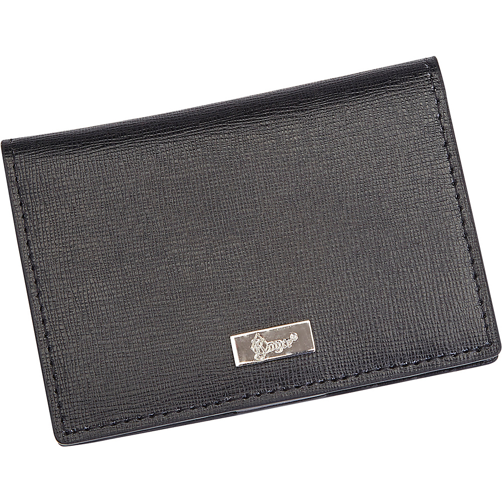 Royce Leather RFID Blocking Coin and Credit Card Case Wallet Black - Royce Leather Mens Wallets - Work Bags & Briefcases, Men's Wallets