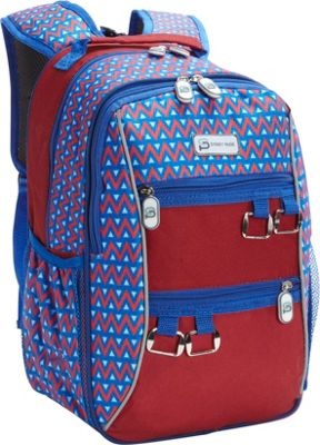 Sydney Paige Buy One/Give One Kids Backpack Blue Tents - Sydney Paige Everyday Backpacks