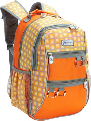 Sydney Paige Buy One/Give One Kids Backpack Orange Tunnels - Sydney Paige Everyday Backpacks