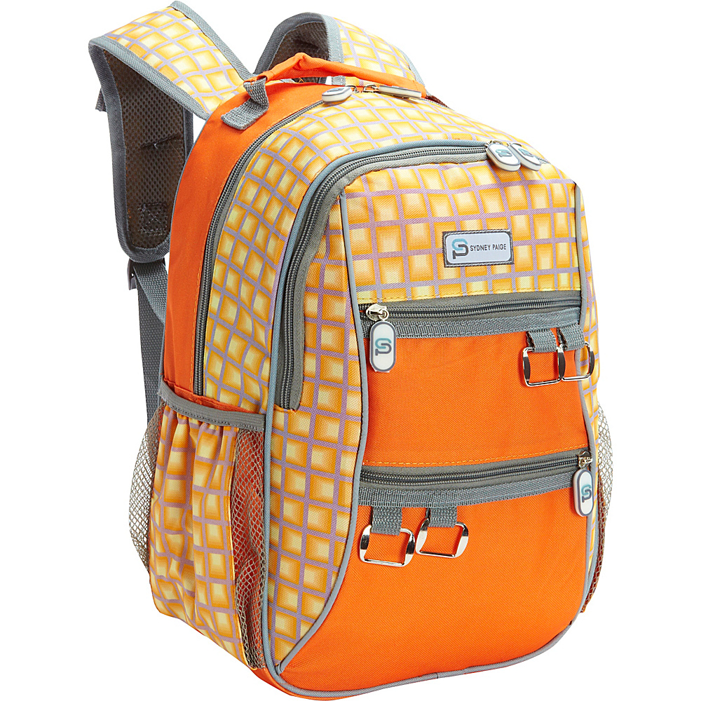 Sydney Paige Buy One Give One Kids Backpack Orange Tunnels Sydney Paige Everyday Backpacks