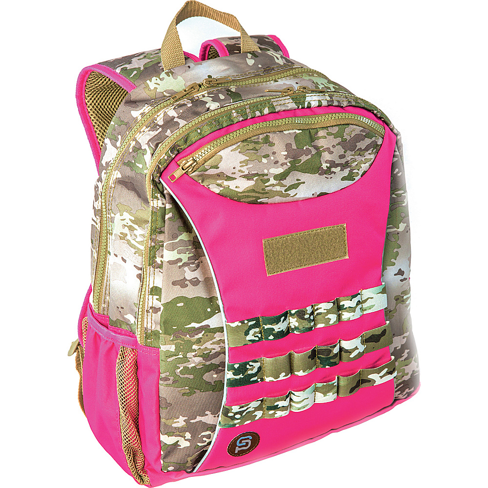 Sydney Paige Buy One Give One Kids Backpack Pink Camo Sydney Paige Everyday Backpacks