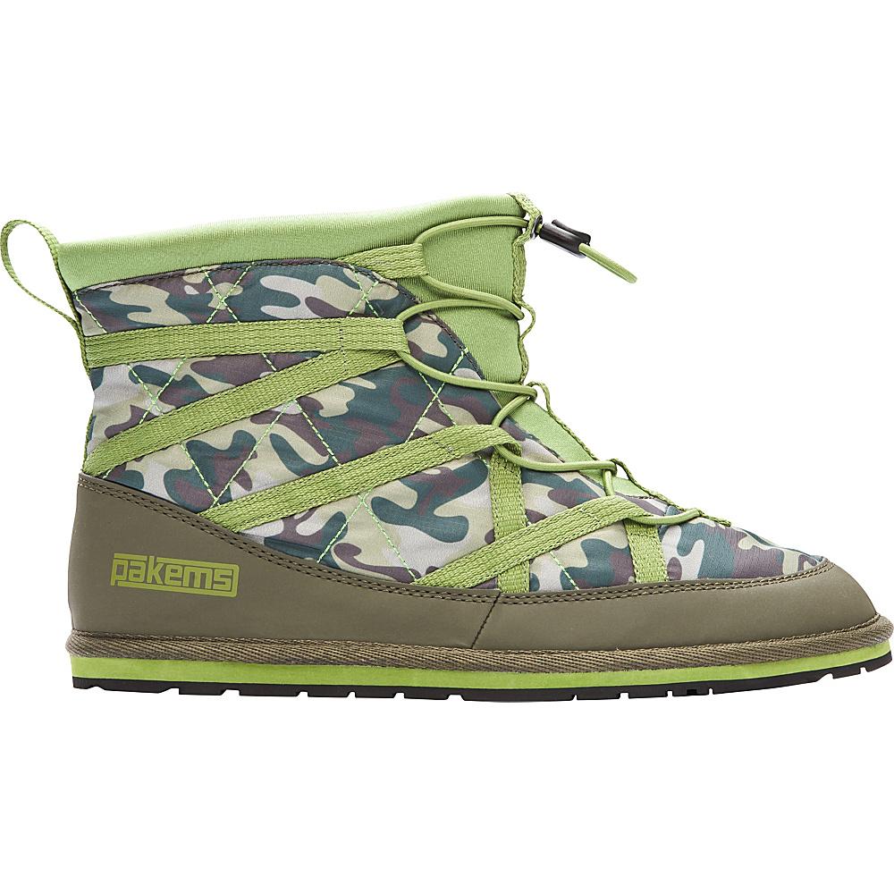 Pakems Men s Extreme Boot 12 M Regular Medium Green Camo Pakems Men s Footwear