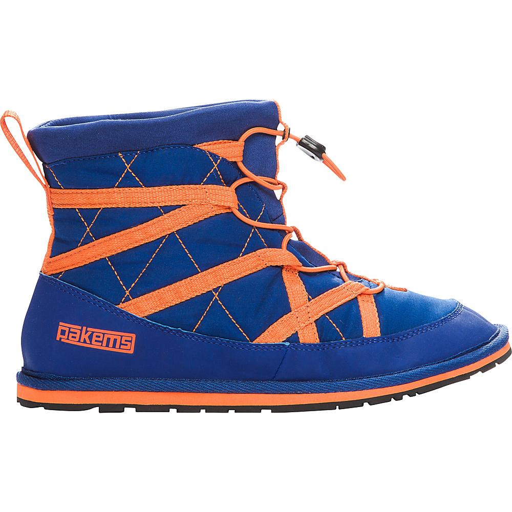 Pakems Men s Extreme Boot 8 M Regular Medium Blue amp; Orange Pakems Men s Footwear