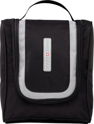 Swiss Gear Travel Accessories Hanging Toiletry Bag Black - Swiss Gear Travel Accessories Toiletry Kits