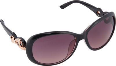 SouthPole Eyewear Oval Sunglasses Black - SouthPole Eyewear Sunglasses
