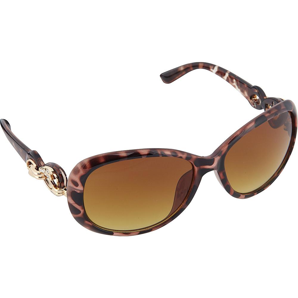 SouthPole Eyewear Oval Sunglasses Tortoise SouthPole Eyewear Sunglasses
