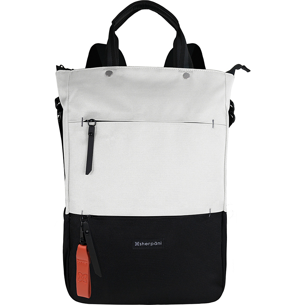 Sherpani Camden Recyled Convertible Backpack Birch Sherpani Everyday Backpacks