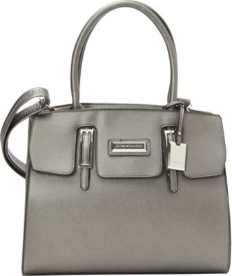 Catherine Malandrino Christina Tote Pewter - Catherine Malandrino Manmade Handbags