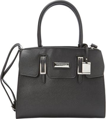 Catherine Malandrino Christina Tote Black - Catherine Malandrino Manmade Handbags
