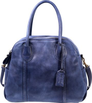 Old Trend Vintage Hobo Vintage Blue - Old Trend Leather Handbags