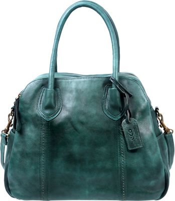 Old Trend Vintage Hobo Vintage Green - Old Trend Leather Handbags