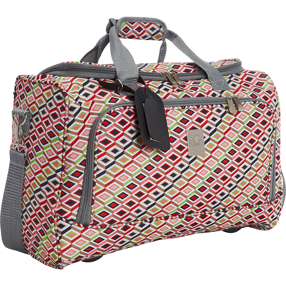 Jenni Chan Tiles 17 City Duffel Bag Multi Jenni Chan Travel Duffels