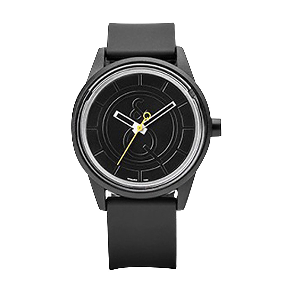 Q & Q Smile Solar Men's Sporty Watch Black - Q & Q Smile Solar Watches