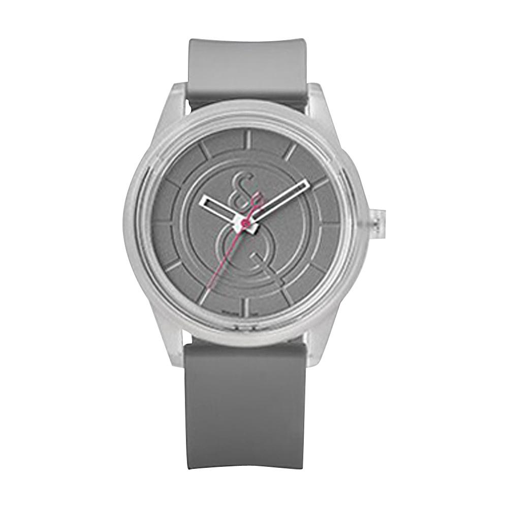 Q & Q Smile Solar Men's Sporty Watch Grey - Q & Q Smile Solar Watches