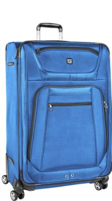 ful Sequential Series 29 inch Upright Spinner Luggage Cobalt - ful Softside Checked