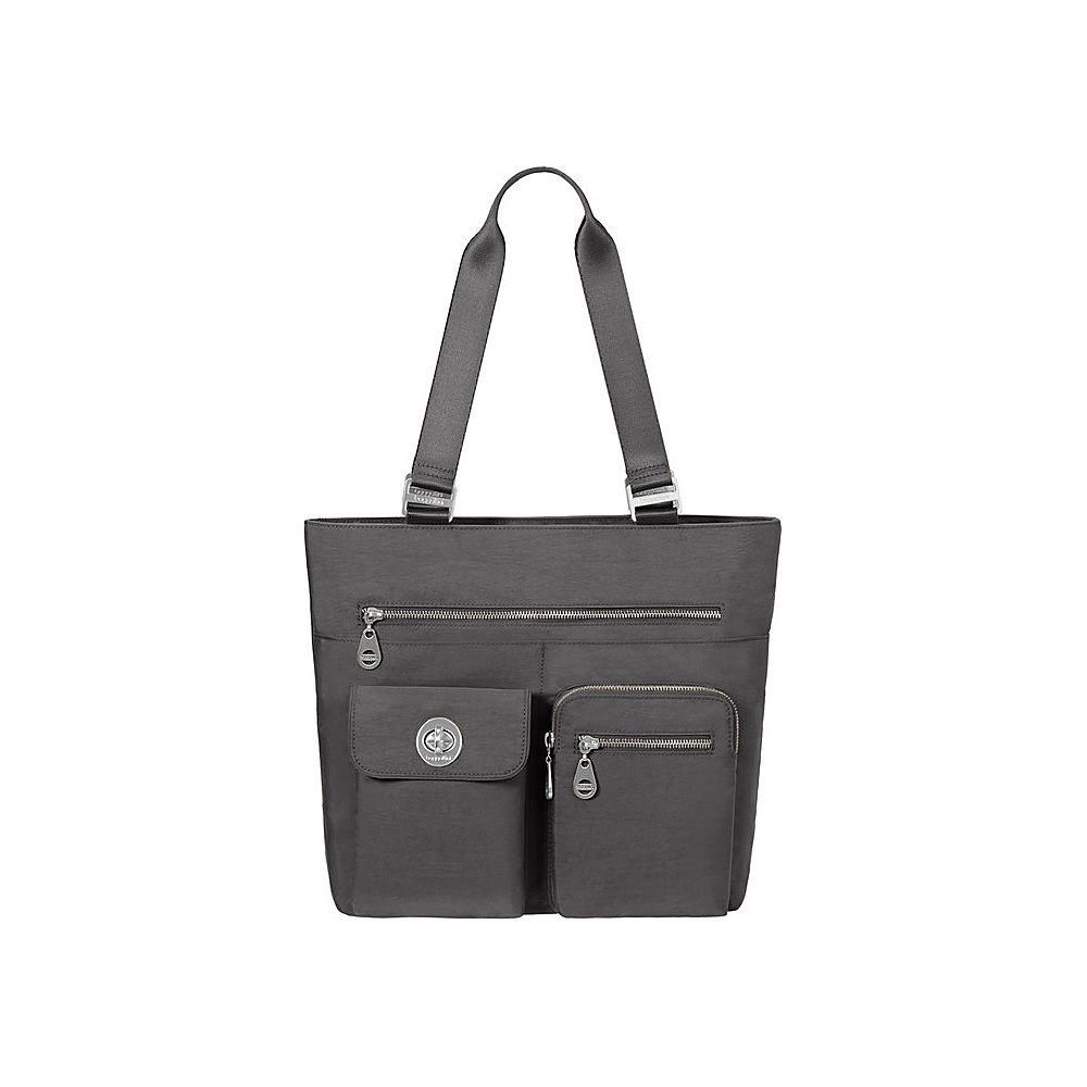 baggallini Tulum Tote Charcoal - baggallini Fabric Handbags - Handbags, Fabric Handbags