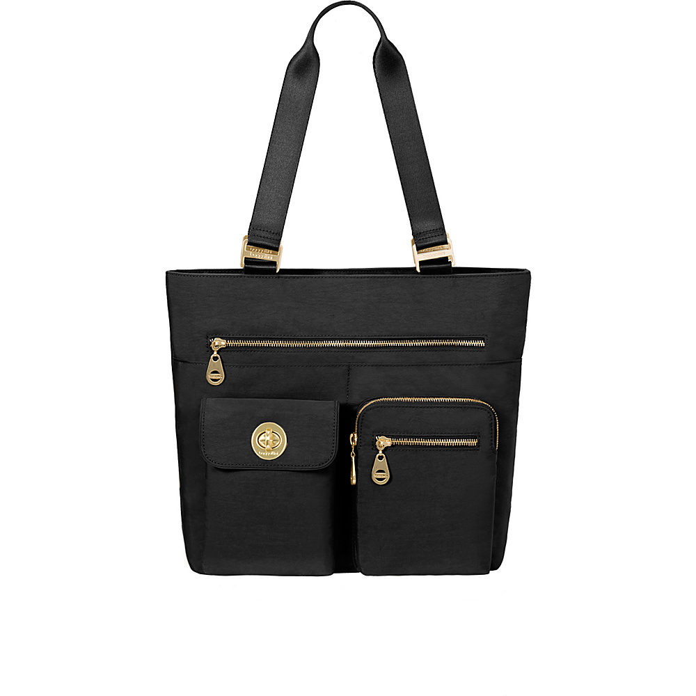 baggallini Tulum Tote Black - baggallini Fabric Handbags - Handbags, Fabric Handbags