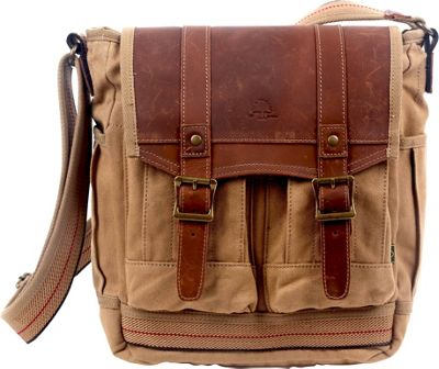 TSD Turtle Ridge Large Crossbody Camel - TSD Fabric Handbags