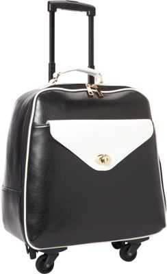 Hang Accessories Retro 360 Rolling Bag Black/White - Hang Accessories Wheeled Business Cases