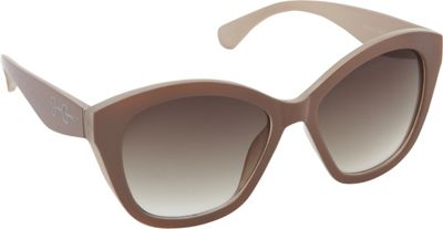 Jessica Simpson Sunwear Cat Eye Sunglasses Nude Cream - Jessica Simpson Sunwear Sunglasses