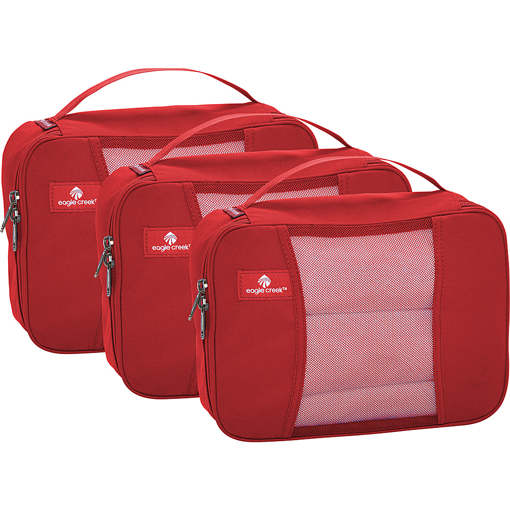 Eagle Creek Pack-It Half Cube Set Red Fire - Eagle Creek Travel Organizers - Travel Accessories, Travel Organizers