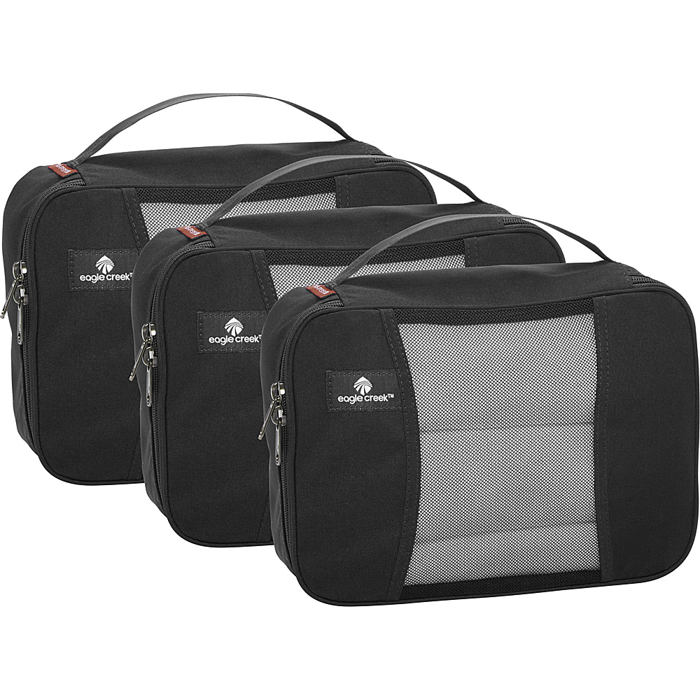 Eagle Creek Pack-It Half Cube Set Black - Eagle Creek Travel Organizers - Travel Accessories, Travel Organizers