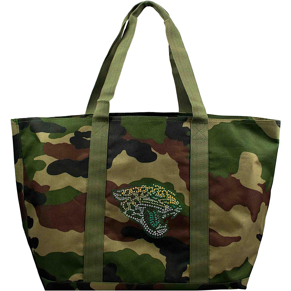 Littlearth Camo Tote - NFL Teams Jacksonville Jaguars - Littlearth Fabric Handbags - Handbags, Fabric Handbags