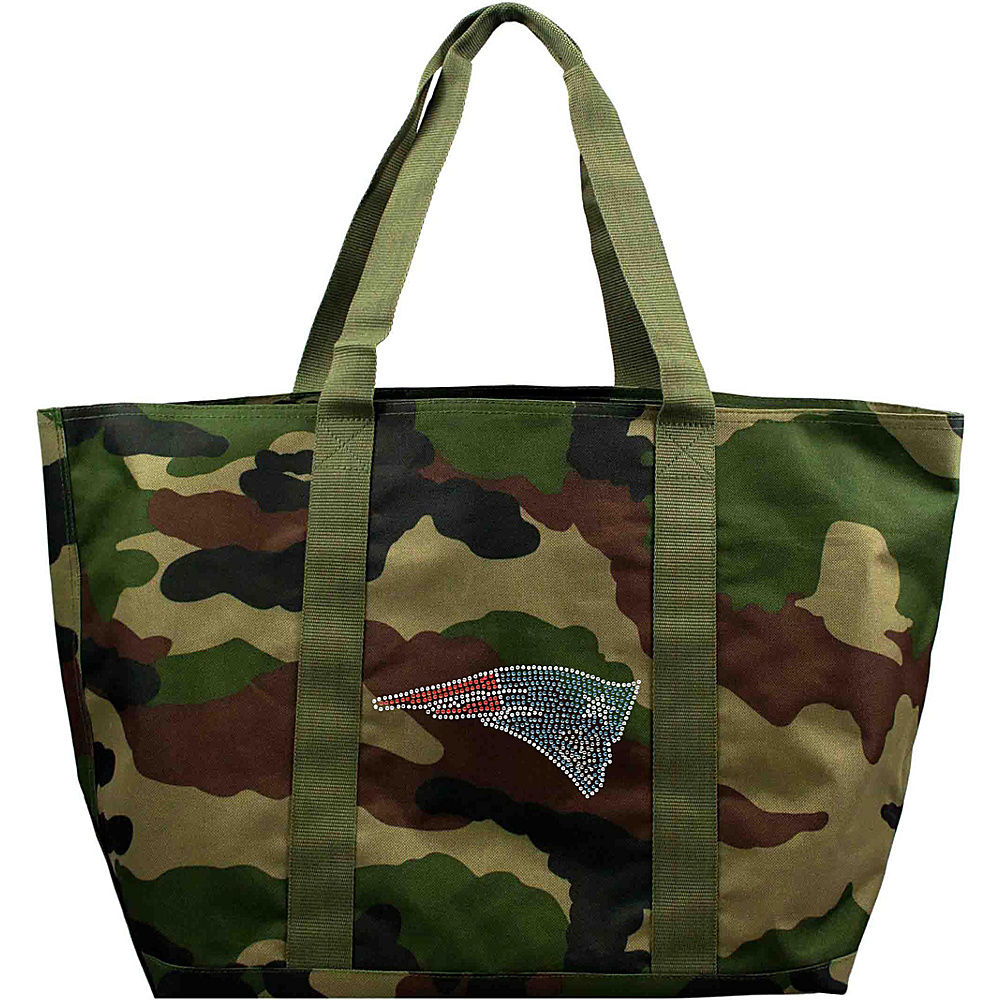Littlearth Camo Tote - NFL Teams New England Patriots - Littlearth Fabric Handbags - Handbags, Fabric Handbags