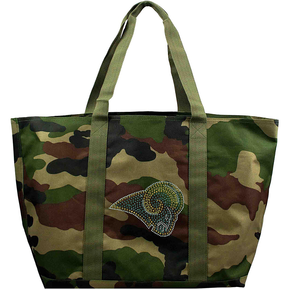 Littlearth Camo Tote - NFL Teams St. Louis Rams - Littlearth Fabric Handbags - Handbags, Fabric Handbags