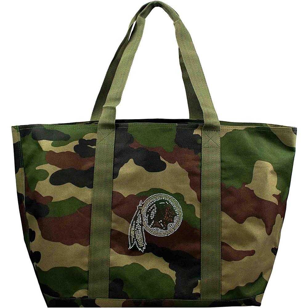 Littlearth Camo Tote - NFL Teams Washington Redskins - Littlearth Fabric Handbags - Handbags, Fabric Handbags