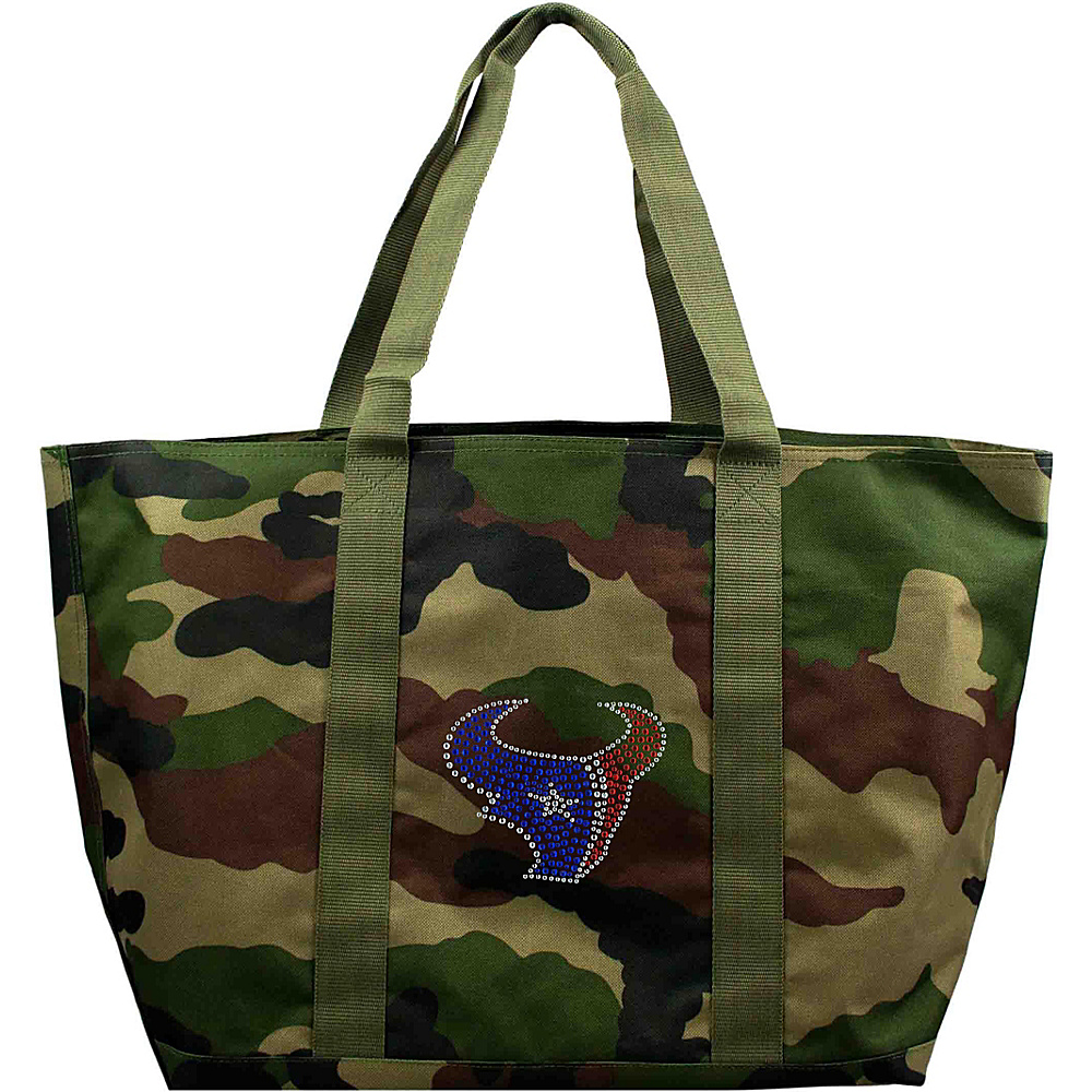 Littlearth Camo Tote - NFL Teams Houston Texans - Littlearth Fabric Handbags - Handbags, Fabric Handbags