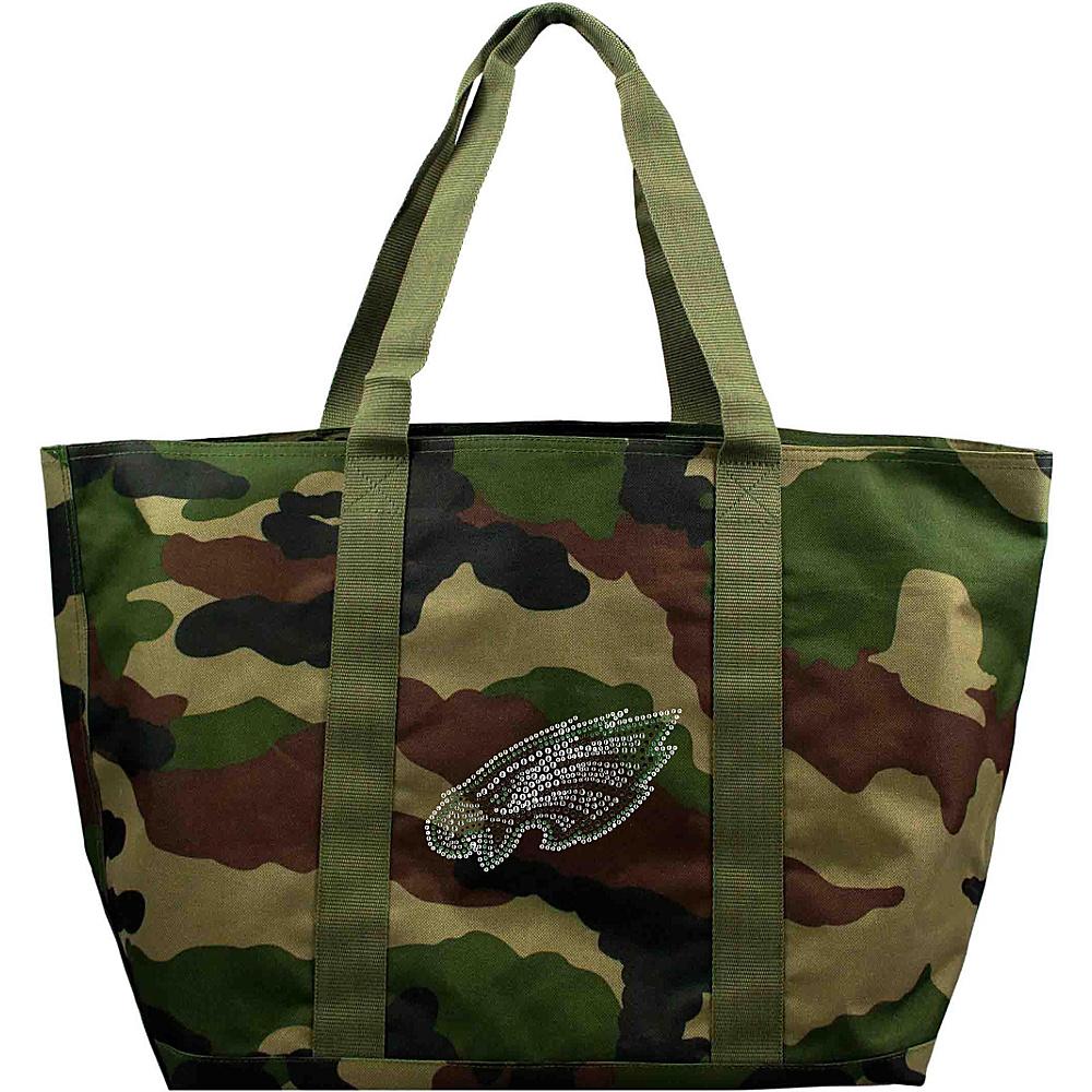 Littlearth Camo Tote - NFL Teams Philadelphia Eagles - Littlearth Fabric Handbags - Handbags, Fabric Handbags