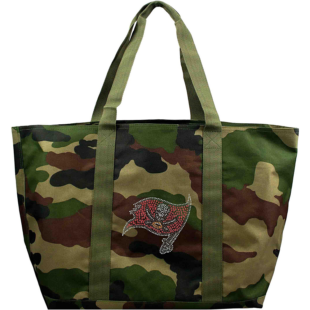 Littlearth Camo Tote - NFL Teams Tampa Bay Buccaneers - Littlearth Fabric Handbags - Handbags, Fabric Handbags