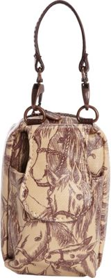Donna Sharp Cell Phone Purse - Exclusive Thoroughbred - Donna Sharp Fabric Handbags