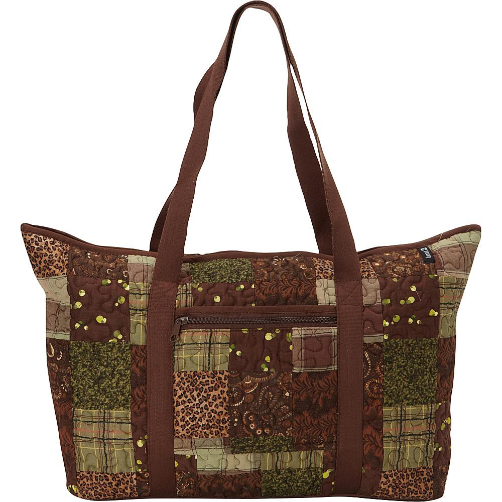 Donna Sharp Large Medina Shoulder Bag Exclusive Safari Donna Sharp Fabric Handbags