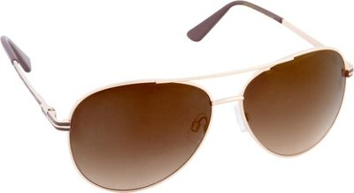 Laundry by Shelli Segal Sunglasses Laundry by Shelli Segal Sunglasses Aviator Sunglasses Gold/Brown - Laundry by Shelli Segal Sunglasses Sunglasses
