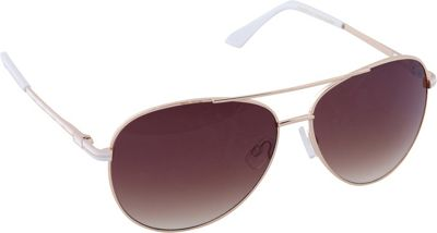 Laundry by Shelli Segal Sunglasses Laundry by Shelli Segal Sunglasses Aviator Sunglasses Gold/White - Laundry by Shelli Segal Sunglasses Sunglasses