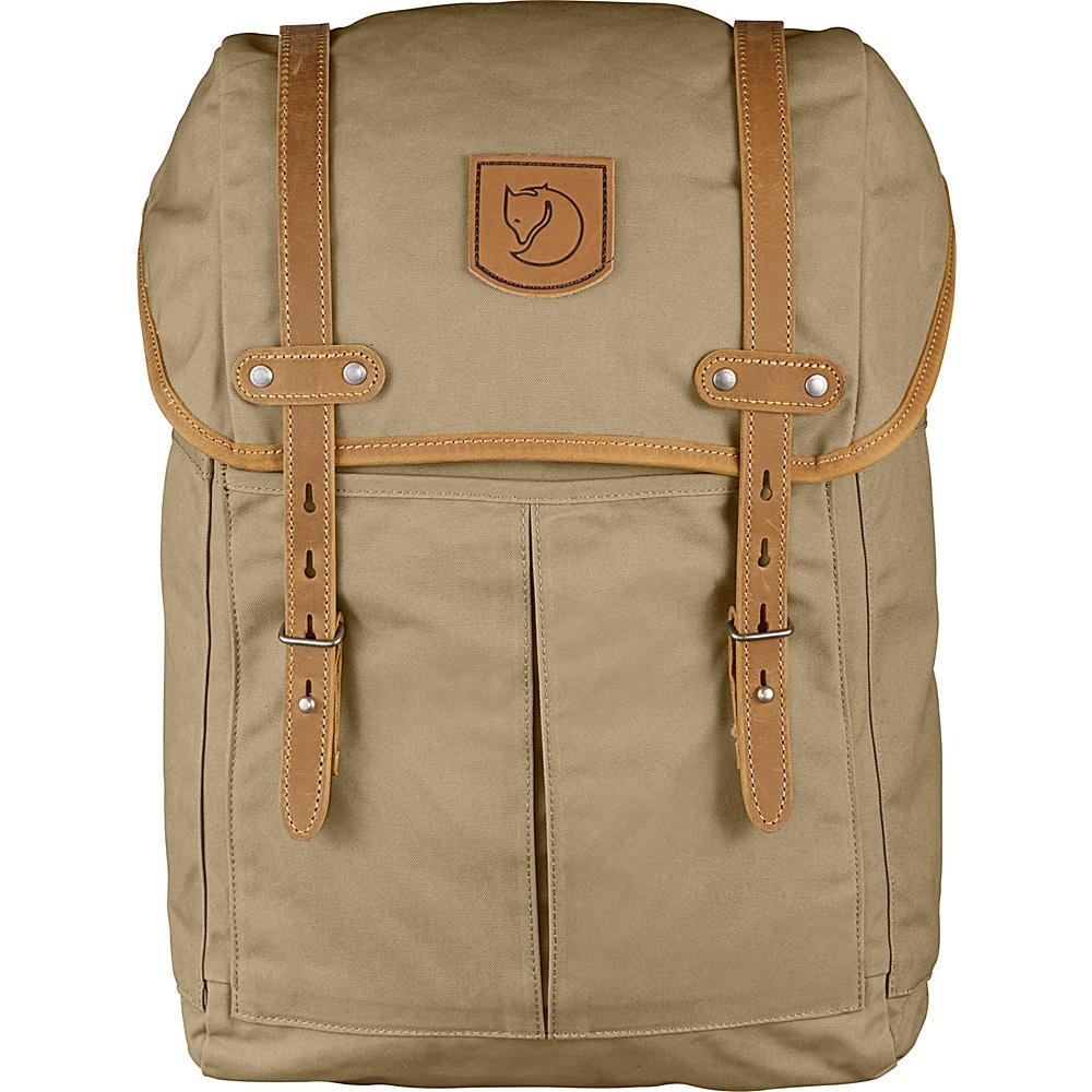Fjallraven Rucksack No.21 Medium Sand - Fjallraven Laptop Backpacks - Backpacks, Laptop Backpacks