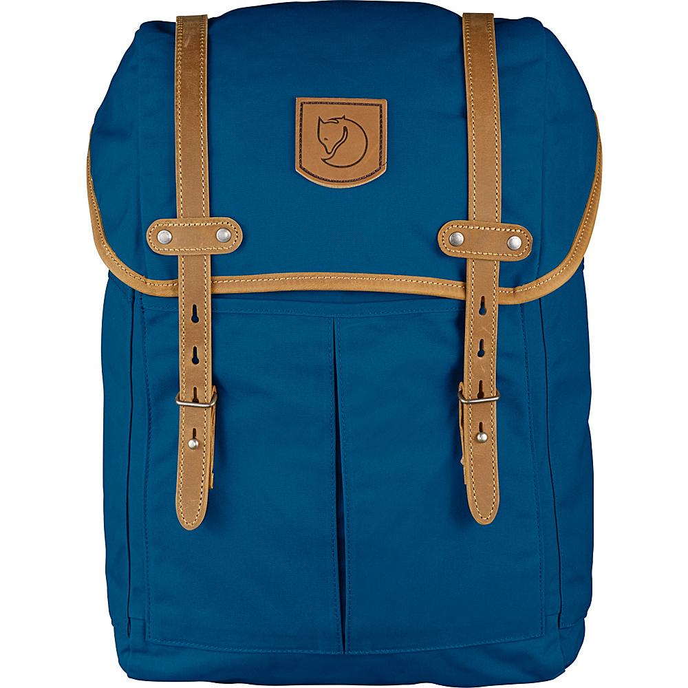 Fjallraven Rucksack No.21 Medium Lake Blue - Fjallraven Laptop Backpacks - Backpacks, Laptop Backpacks