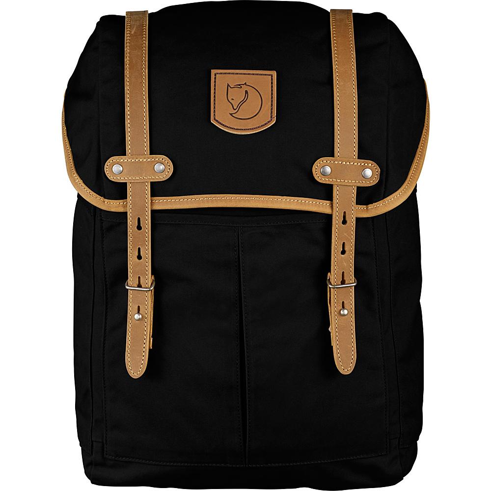 Fjallraven Rucksack No.21 Medium Black - Fjallraven Laptop Backpacks - Backpacks, Laptop Backpacks