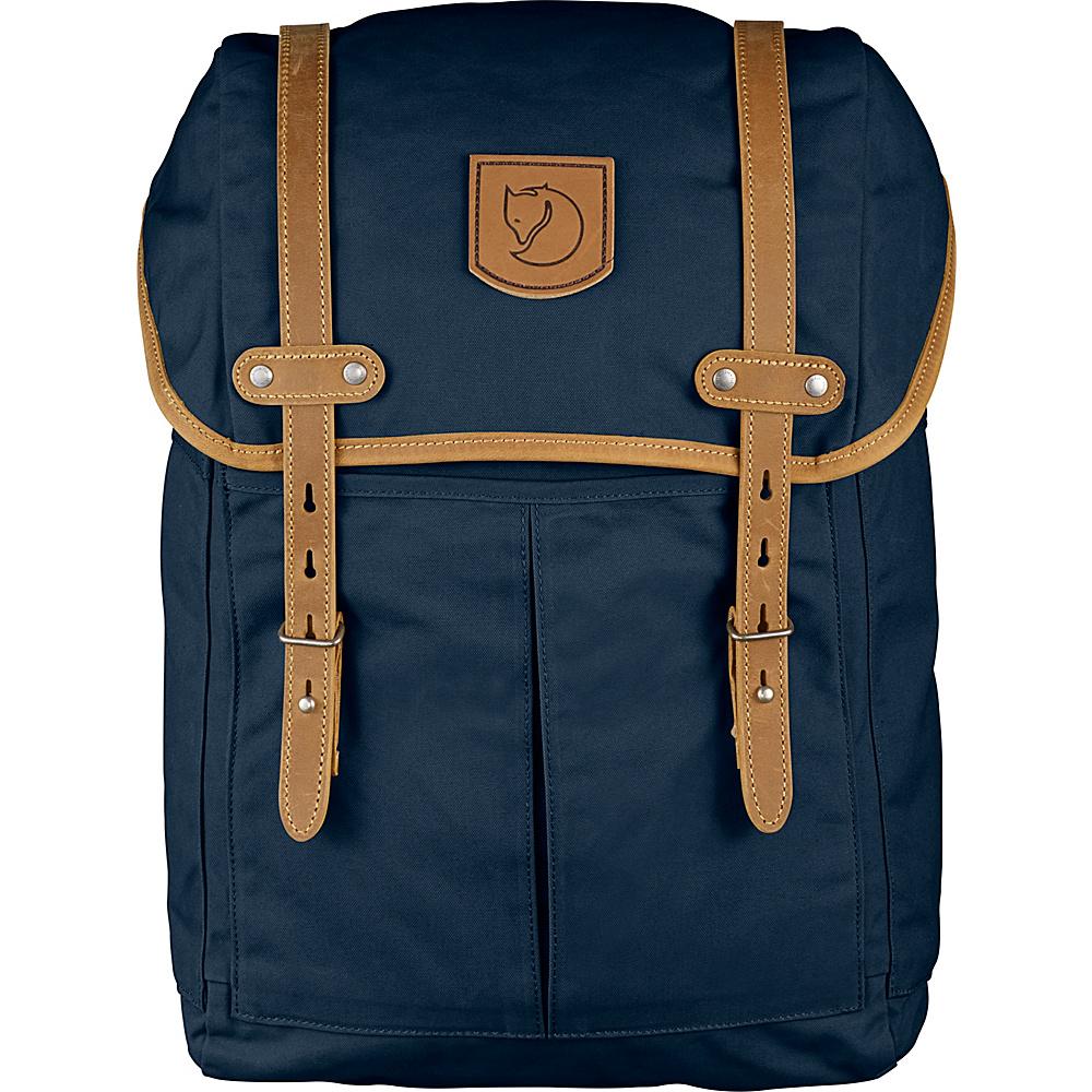 Fjallraven Rucksack No.21 Medium Navy - Fjallraven Laptop Backpacks - Backpacks, Laptop Backpacks