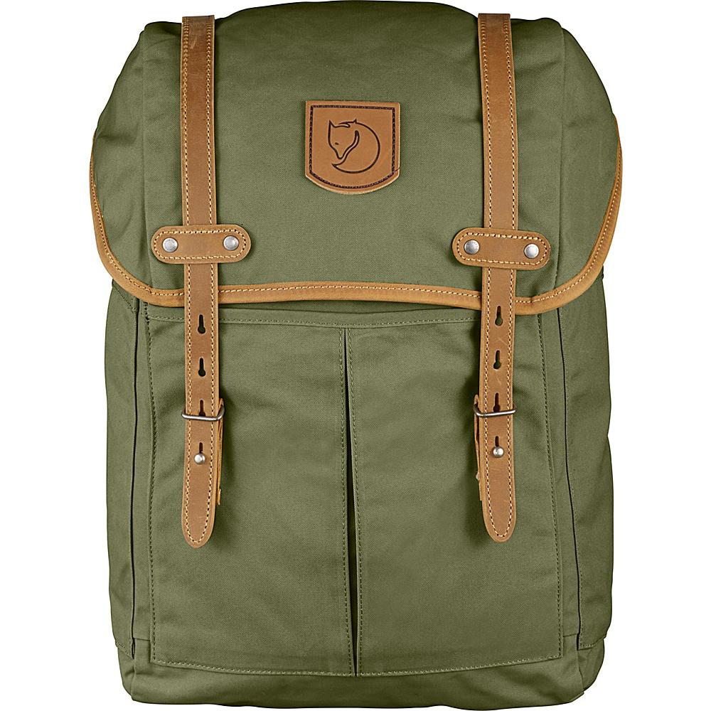 Fjallraven Rucksack No.21 Medium Green - Fjallraven Laptop Backpacks - Backpacks, Laptop Backpacks