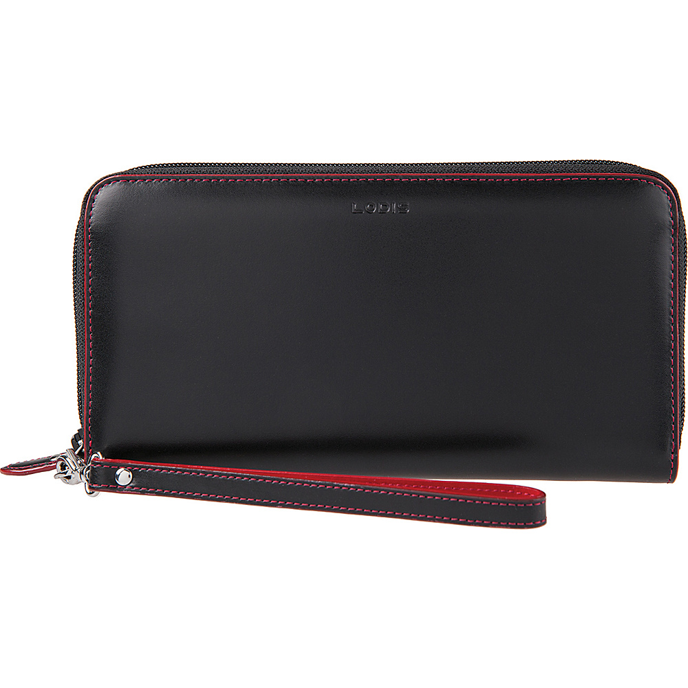 Lodis Audrey Vera Wristlet Wallet Black - Lodis Womens Wallets - Women's SLG, Women's Wallets