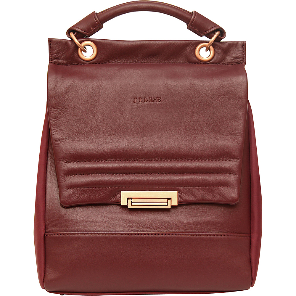 Jill e Designs Smart Tablet Purse Berry Jill e Designs Leather Handbags