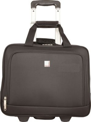 Urban Factory Method Trolley 15.6'' with Locking System Black - Urban Factory Wheeled Business Cases