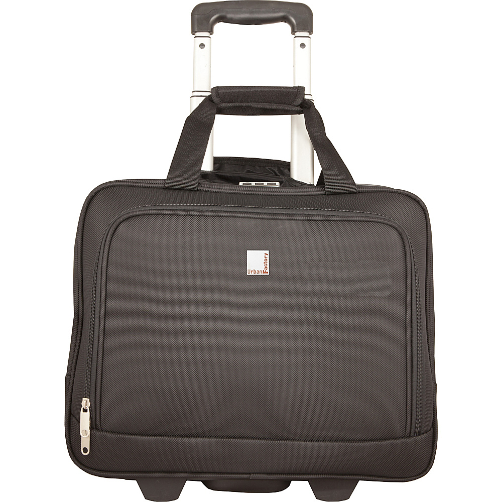 Urban Factory Method Trolley 15.6 with Locking System Black Urban Factory Wheeled Business Cases